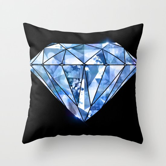 Facets you like Throw Pillow