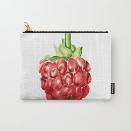 Raspberry watercolor Carry-All Pouch
