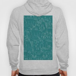 Global warming and animal migration 05 Hoody