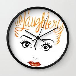 Bombshell Series: Laughter - Lucille Ball Wall Clock