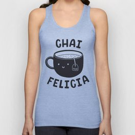 Chai Felicia Unisex Tank Top