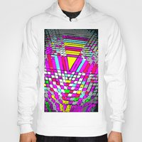 neon Hoodies featuring neon by gasponce