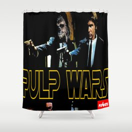 Pulp Wars Shower Curtain