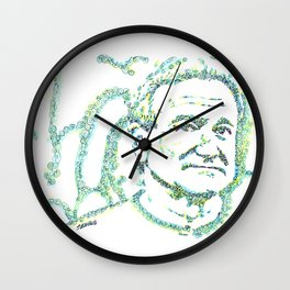 Likeness of Robin Williams Wall Clock