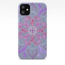 Lobster Flower Pink iPhone Case