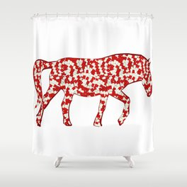 year of the horse: part 3 Shower Curtain
