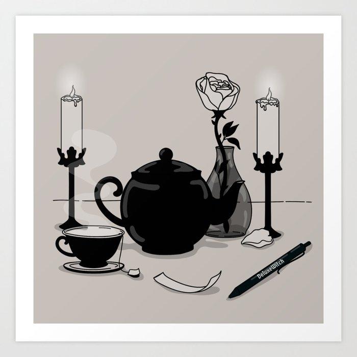 Tea & Intention Art Print
