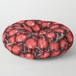 Kettlebells RED Floor Pillow