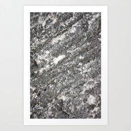 Granite Stone Art Print
