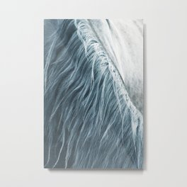 Horse mane photography, fine art print n°1, wild nature, still life, landscape, freedom Metal Print