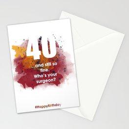 AgeIsJustANumber-40-SunriseSpotA Stationery Cards