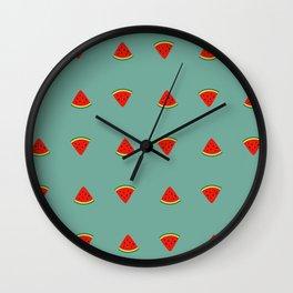 Pattern #3: Watermelon Wall Clock