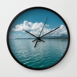 Hawaiian Boat Wall Clock