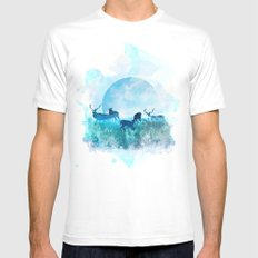 Twilight White MEDIUM Mens Fitted Tee