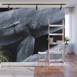 Shark Crossing Wall Mural