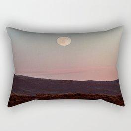 Moon Over Grand Teton Rectangular Pillow