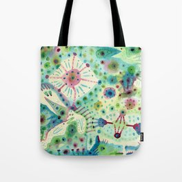 Ink Washes Tote Bag