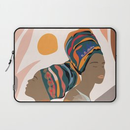 Women with the Turbans Laptop Sleeve
