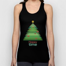Happy time Unisex Tank Top