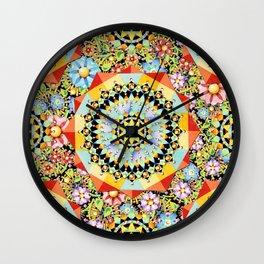Bijoux Millefiori Wall Clock