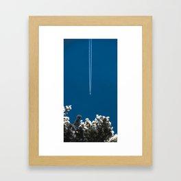 Jetset - Bluest Blue Framed Art Print