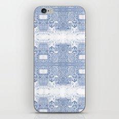 Blue Inhabited Plain iPhone & iPod Skin