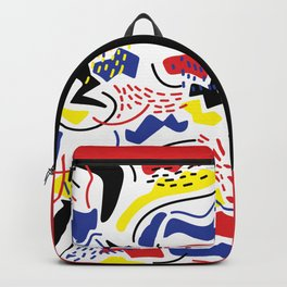 Primary Color Backpack