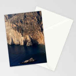The cliffs of Cephalonia Stationery Cards