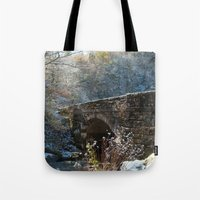 john snow Tote Bags featuring Early Snow by Captive Images Photography