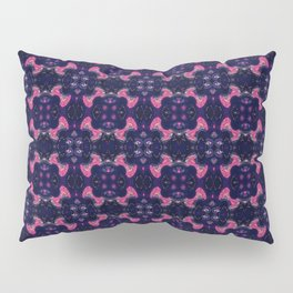 Repeating Fireworks Pillow Sham
