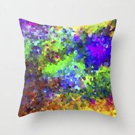 Aquarela_Textura digital  Throw Pillow
