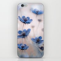 cosmos iPhone & iPod Skins featuring Cosmos by Mandy Disher