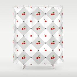 Cherry lux Shower Curtain