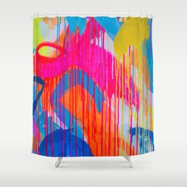 freedom of colours no.3 Shower Curtain