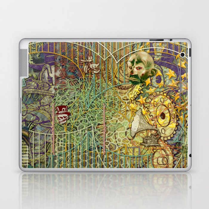 Grinding Out The Mean Layer Laptop & iPad Skin