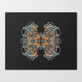 Cuentos de amor de locura y de muerte / 002 Canvas Print