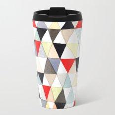 Geometric Pattern Watercolor & Pencil Robayre Travel Mug