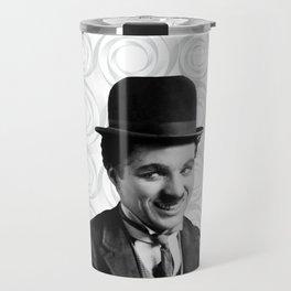 Charlie Chaplin Old Hollywood Travel Mug