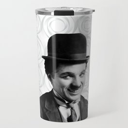 Charlie Chaplin Old Hollywood Travel Mug