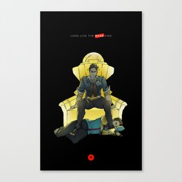 Long Live the Dead King Canvas Print