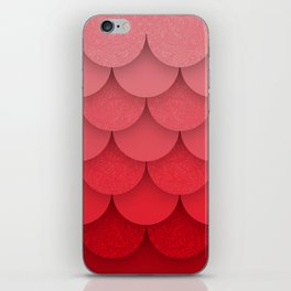 Pink Scales iPhone Skin