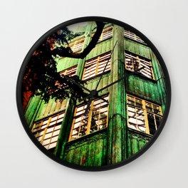 Day Seven: Healing Green Wall Clock
