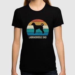 Labradoodle Dad Vintage Retro T-shirt