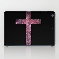 cross iPad Cases featuring Cross by Laura E.