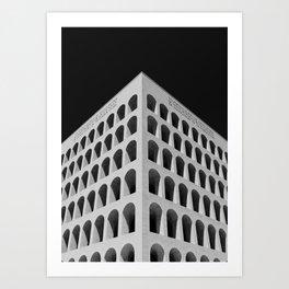 Palazzo della Civiltà Italiana Art Print