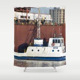 Soo Marine Supply Ojibway Shower Curtain