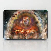 spaceman iPad Cases featuring Spaceman by L. A. Tara