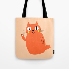 Hello Cat Tote Bag