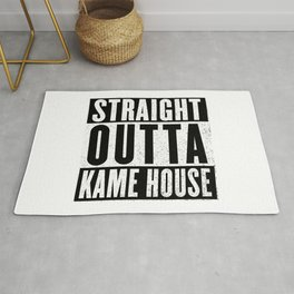 Straight Outta Kame House Rug