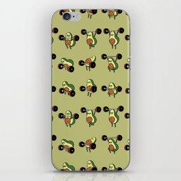 OLYMPIC LIFTING  Avocado iPhone Skin